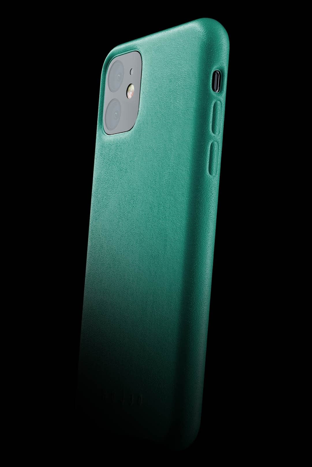 full leather case for iphone 11 alpine green 002