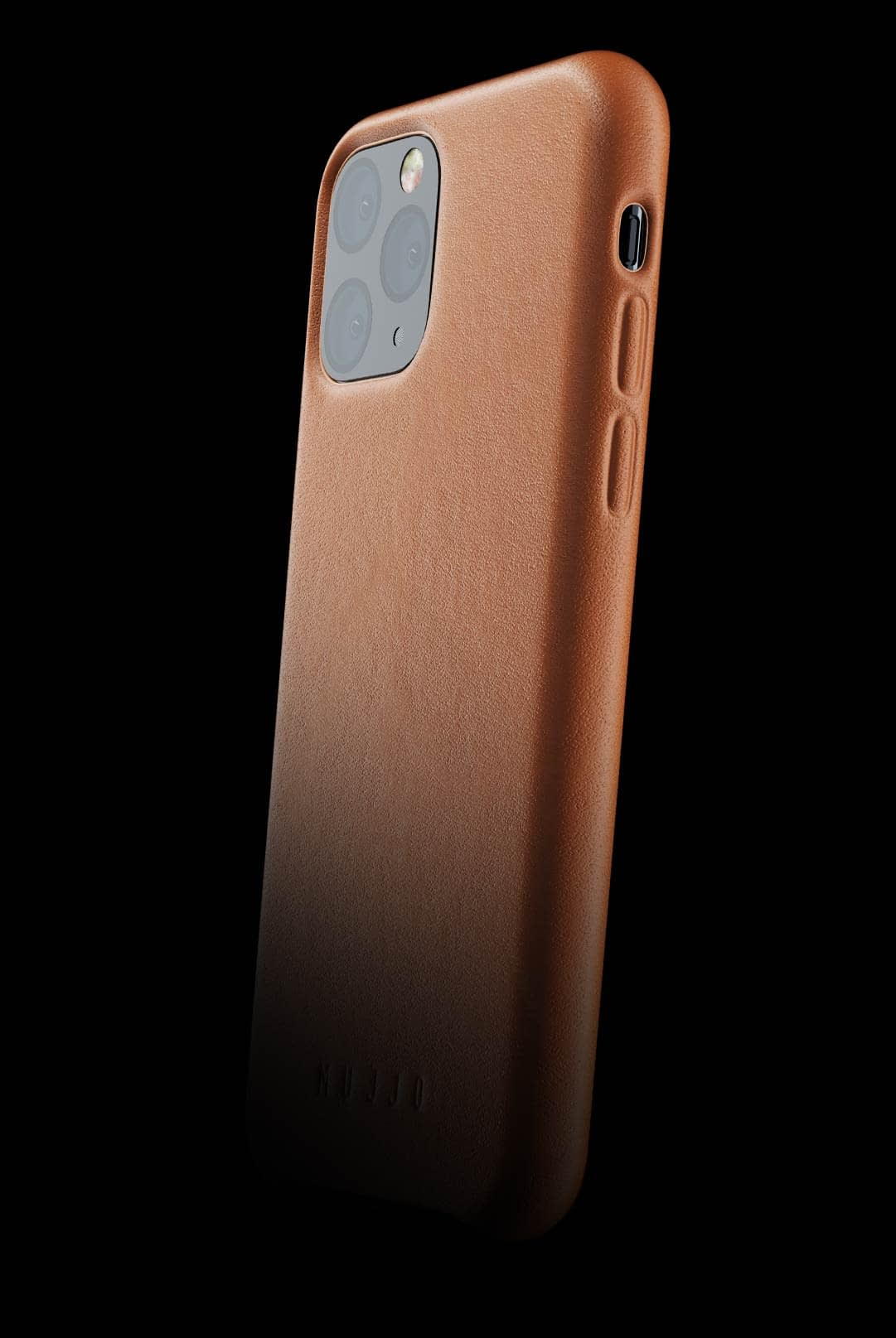 full leather case for iphone 11 pro tan 002