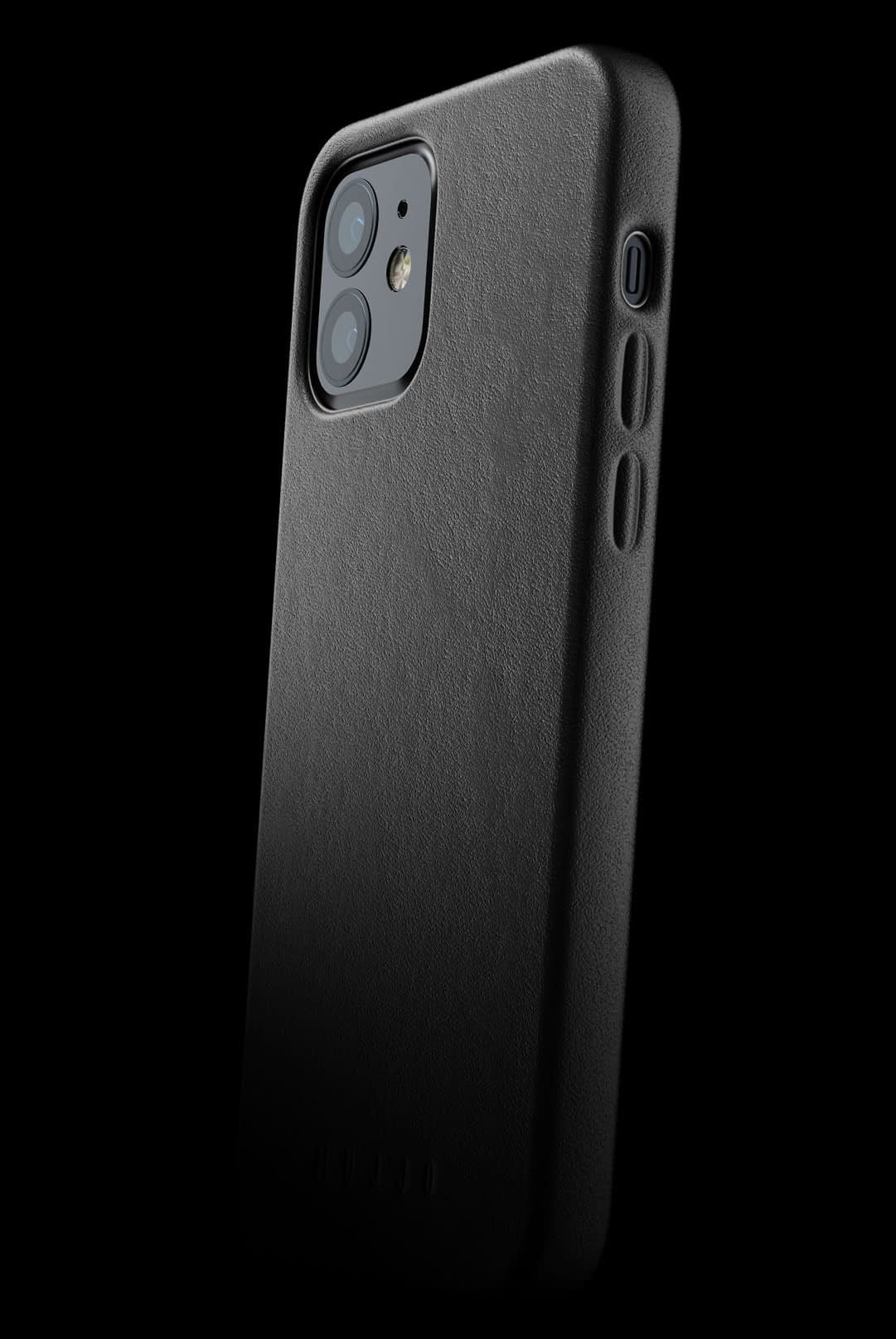 full leather case for iphone 12 black 002