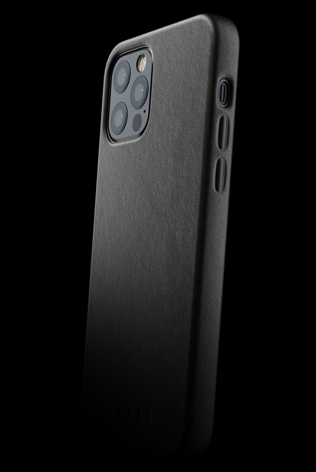 full leather case for iphone 12 pro black 002