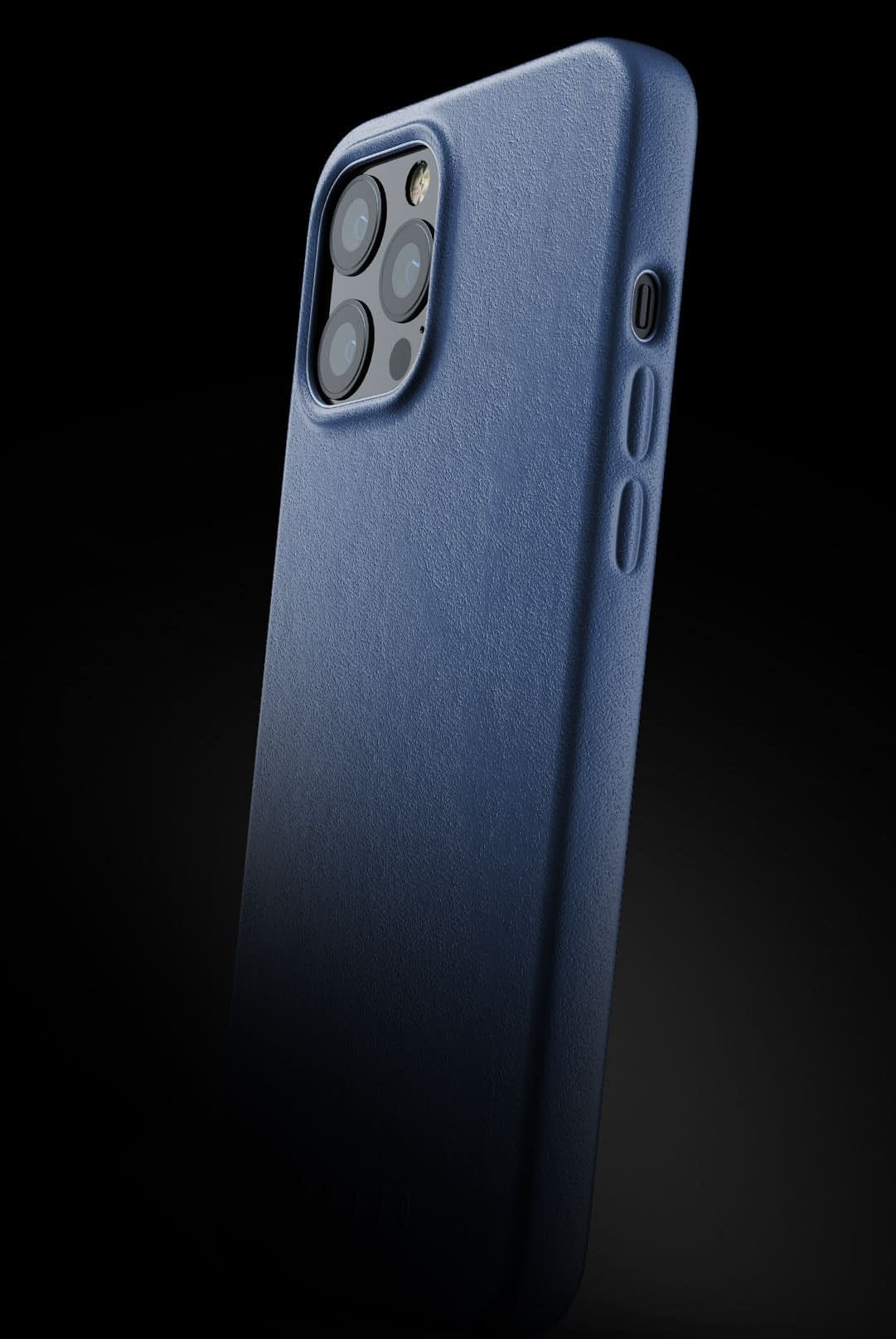 full leather case for iphone 12 pro max monaco blue 002