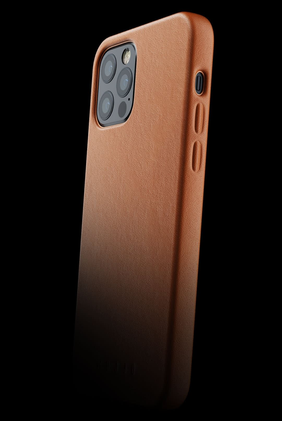 full leather case for iphone 12 pro tan 002
