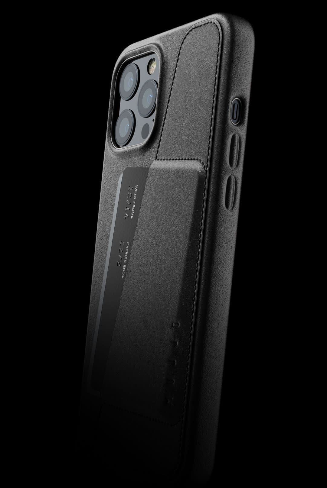 full leather wallet case for iphone 12 pro max black 002