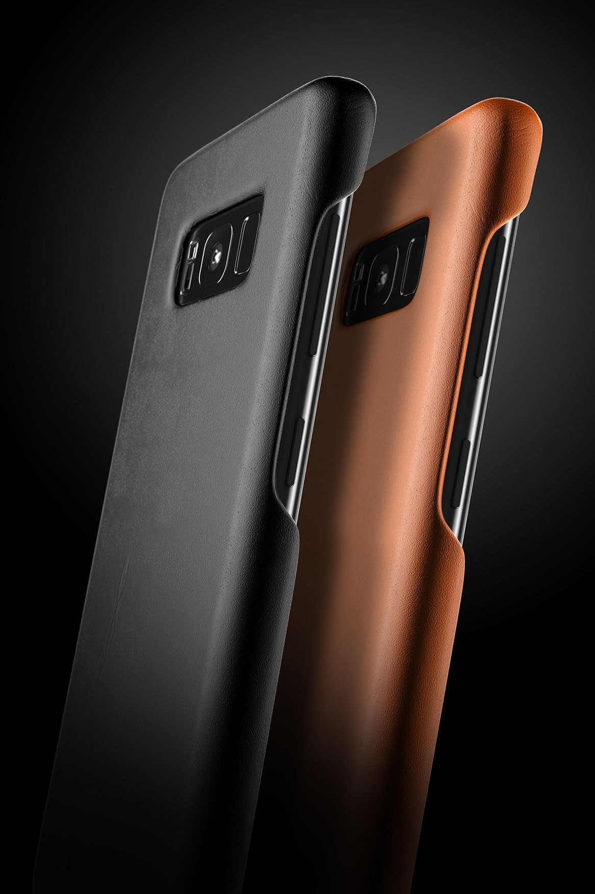 Leather case for Galaxy S8 Black 4