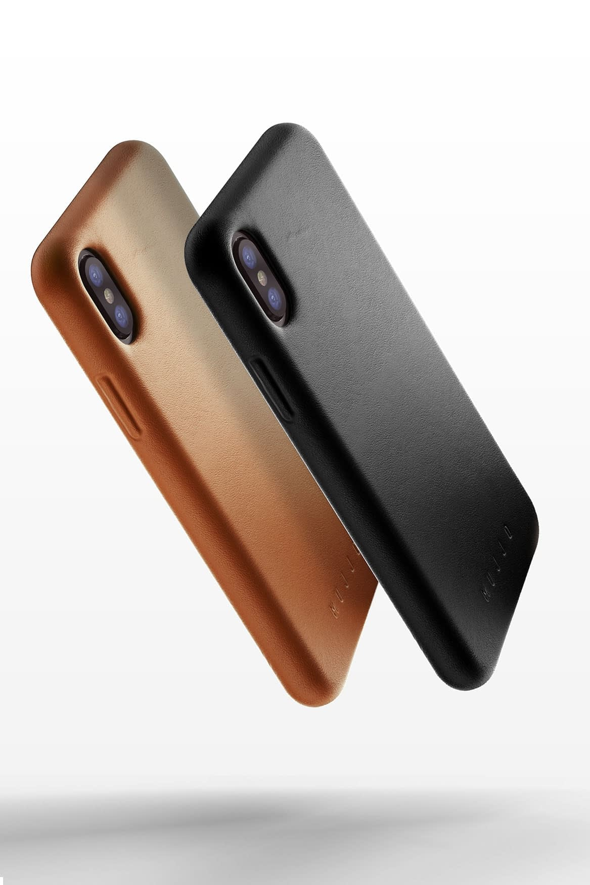 Full leather case for iPhone X Black Line up 03