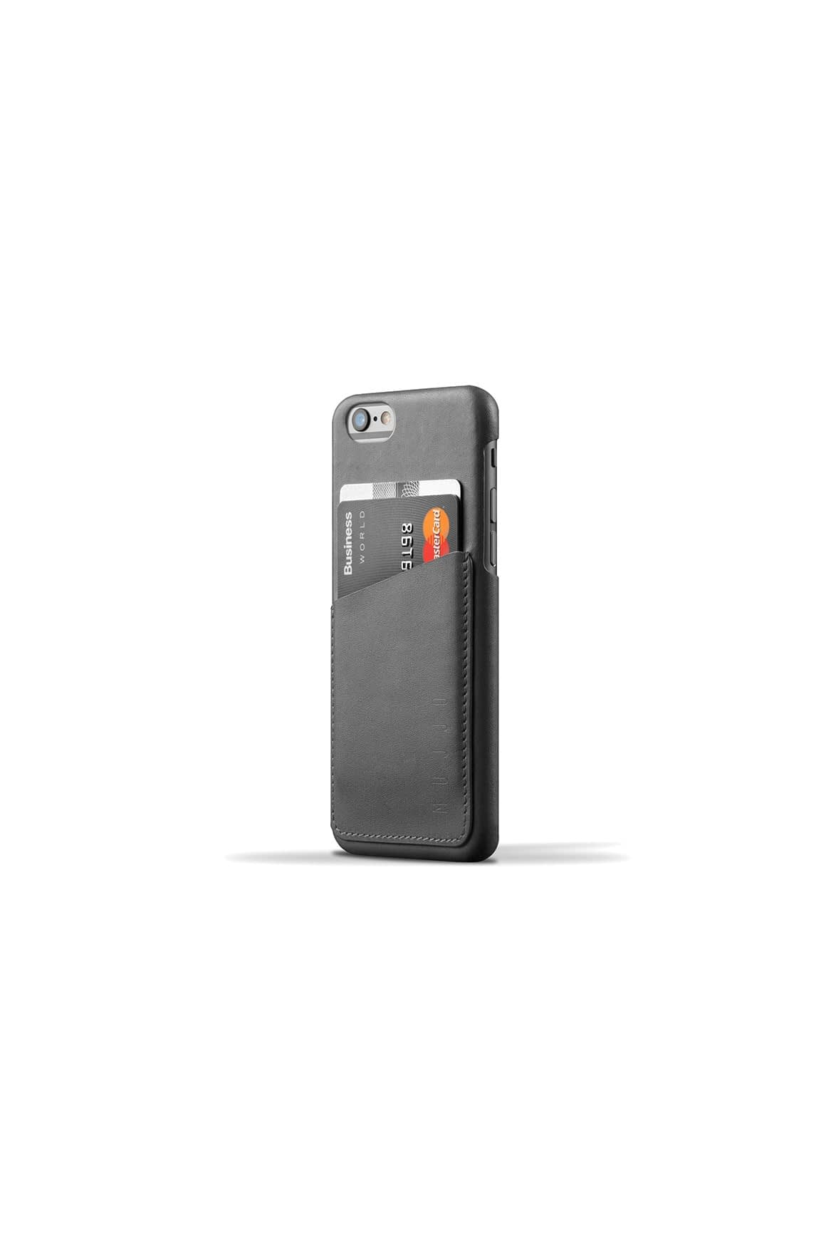 Leather Wallet Case for iPhone 6 Gray 003