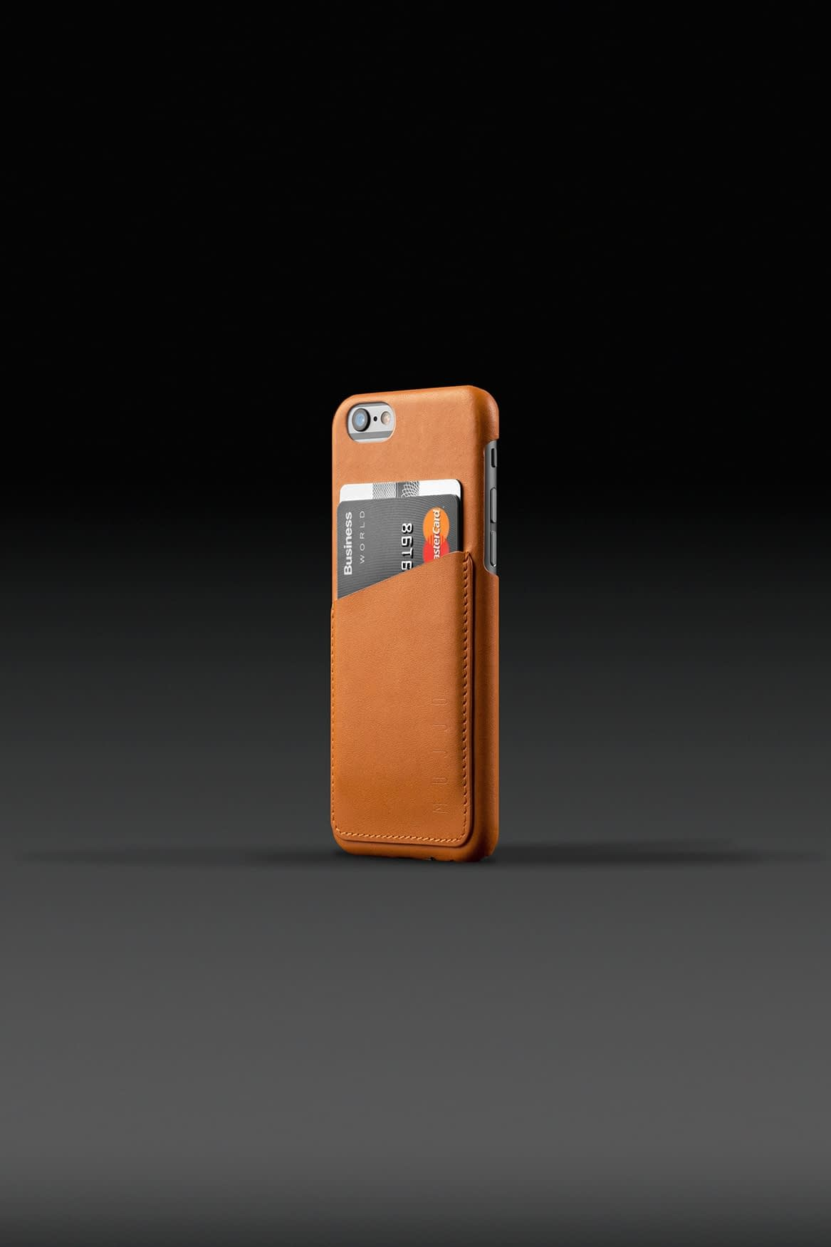 Leather Wallet Case for iPhone 6 Tan 002