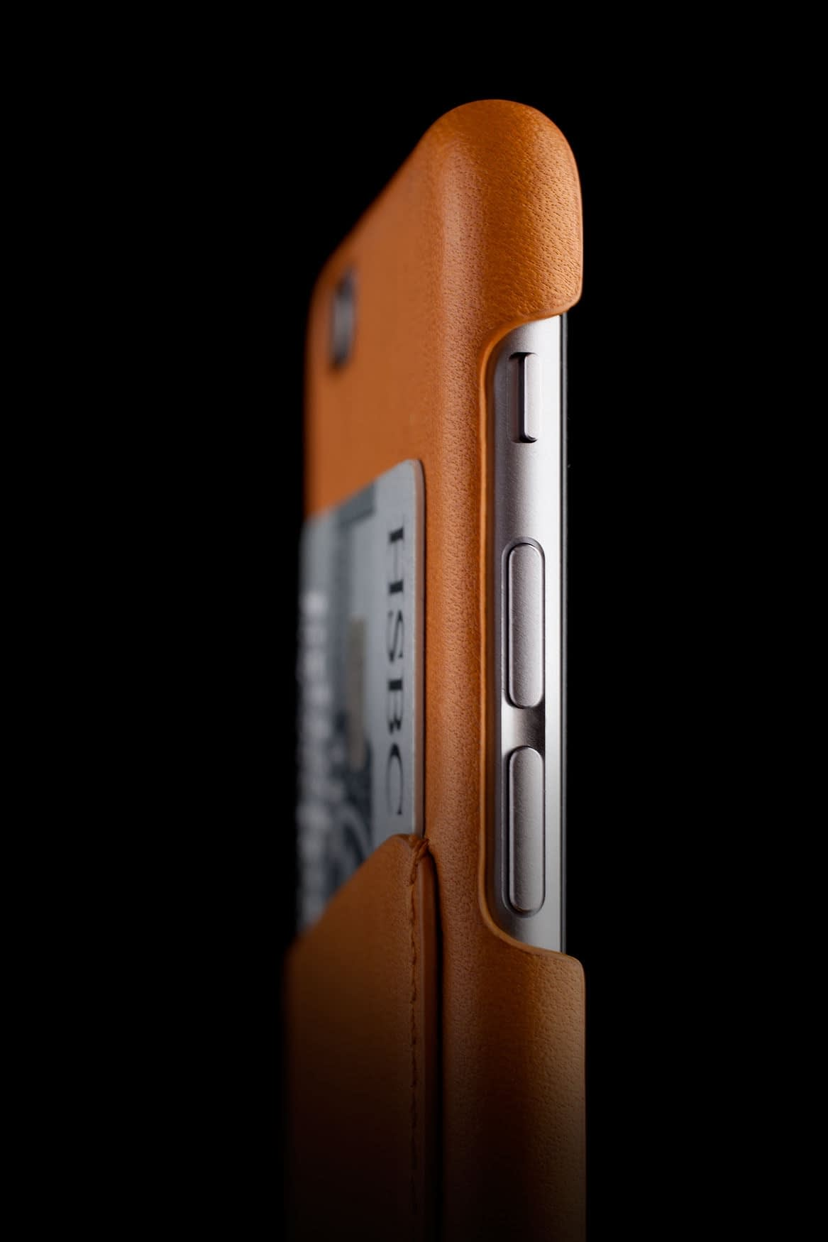 Leather Wallet Case for iPhone 6 Tan Lifestyle 008