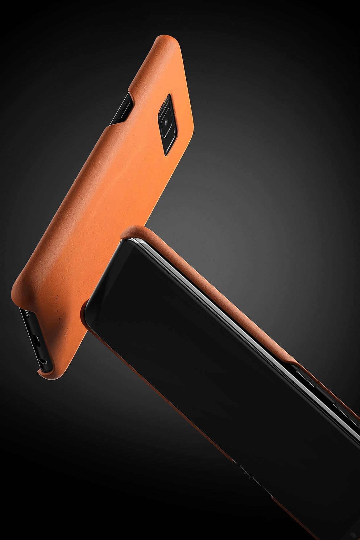 Leather case for Galaxy S8 Saddle Tan 5 1