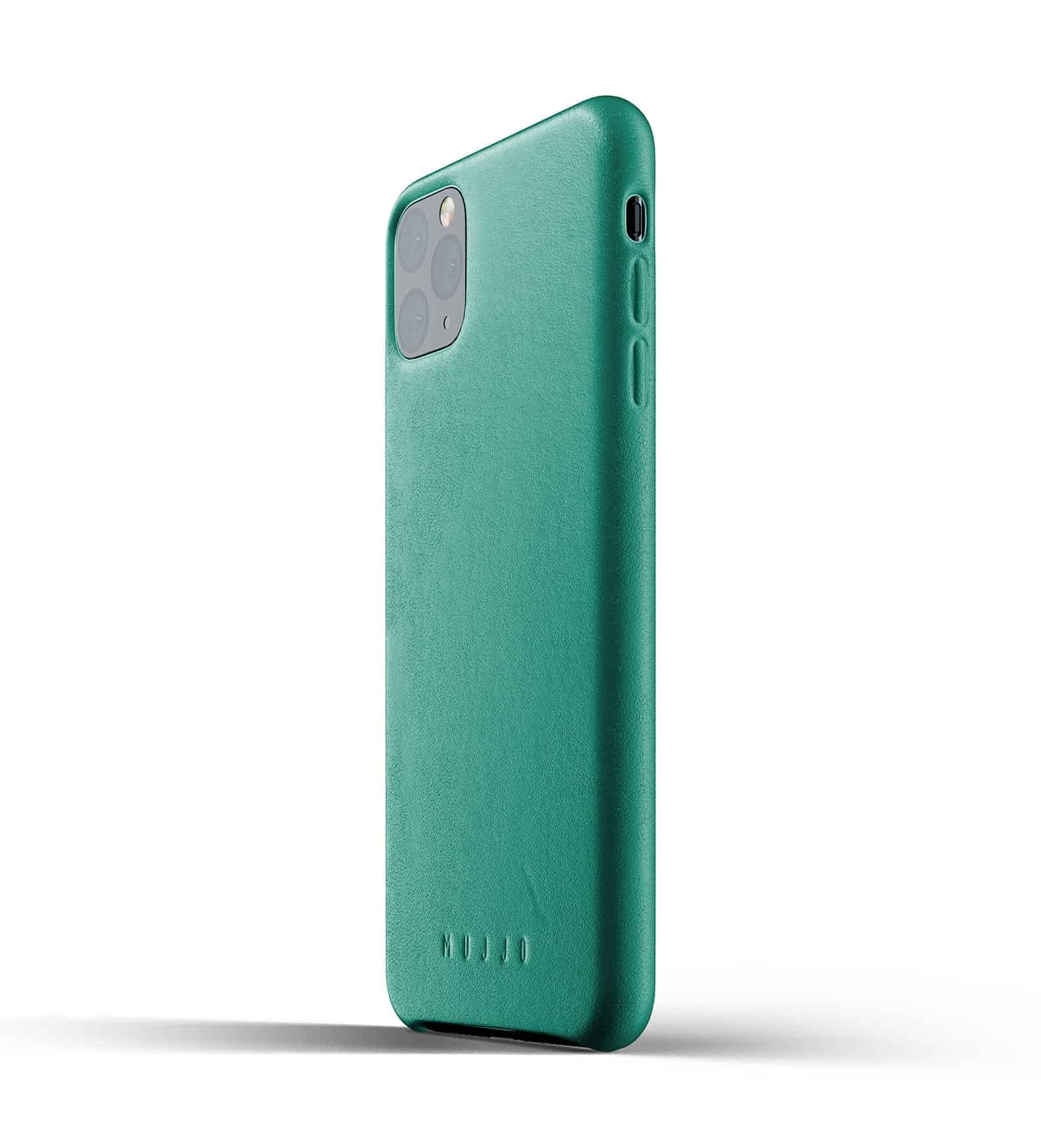 Full leather case for iPhone 11 Pro Max Alpine Green Thumbnail 03