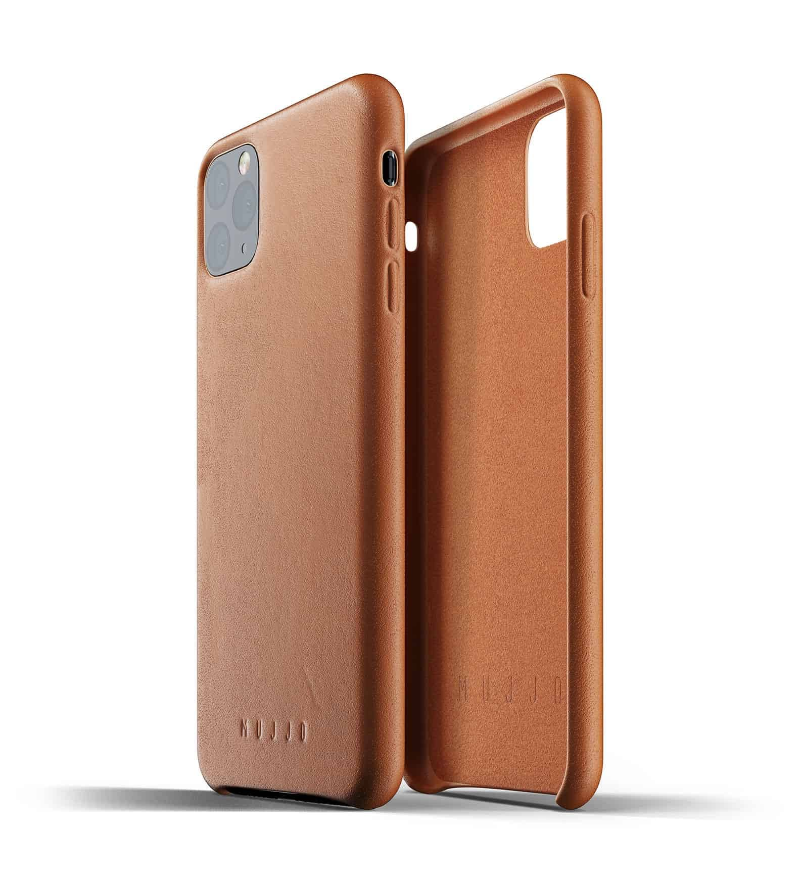 Full leather case for iPhone 11 Pro Max Tan Thumbnail 02