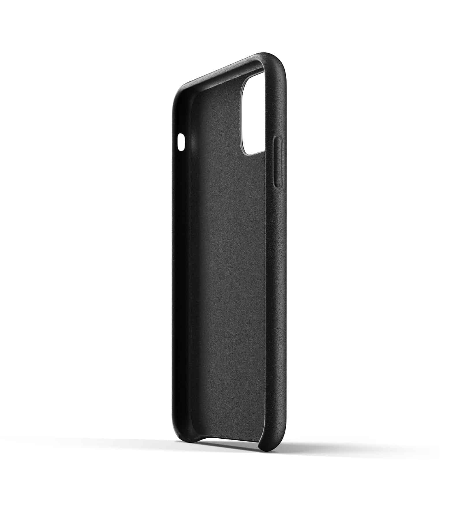 Full leather wallet case for iPhone 11 Black Thumbnail 05