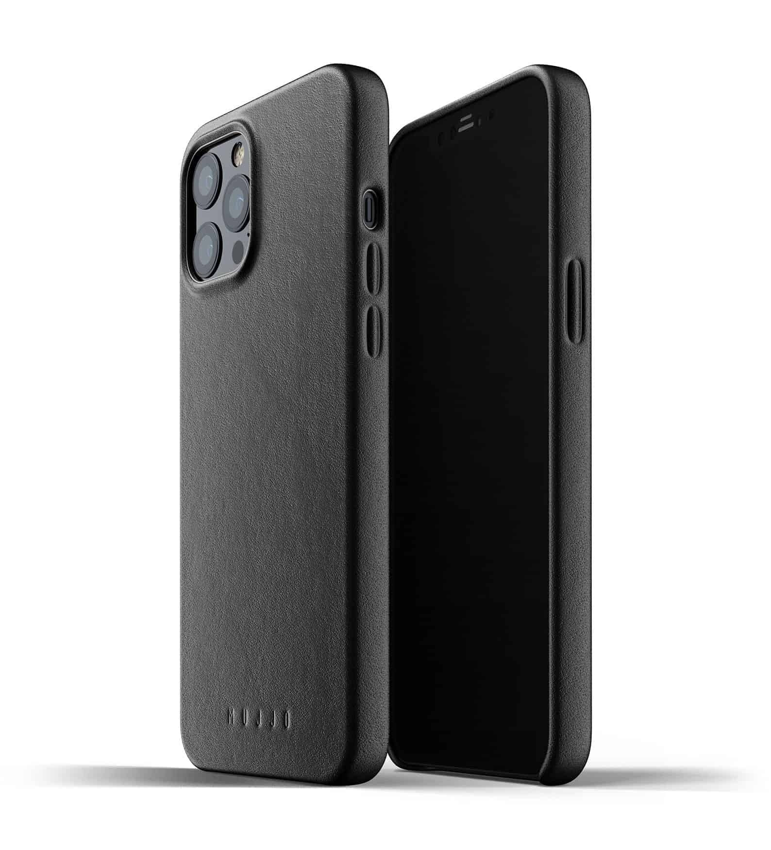 Full Leather Case for iPhone 12 Pro Max Black Thumbnail 01