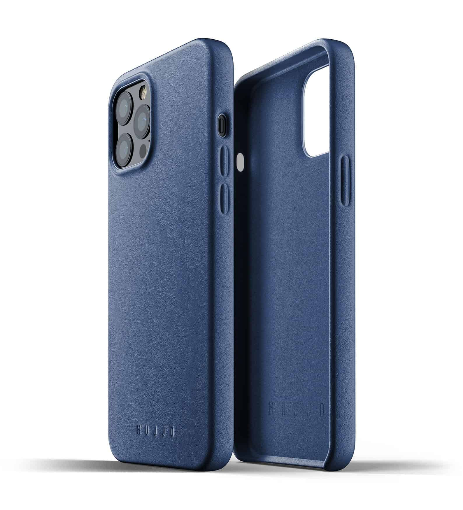 Full Leather Case for iPhone 12 Pro Max Monaco Blue Thumbnail 02