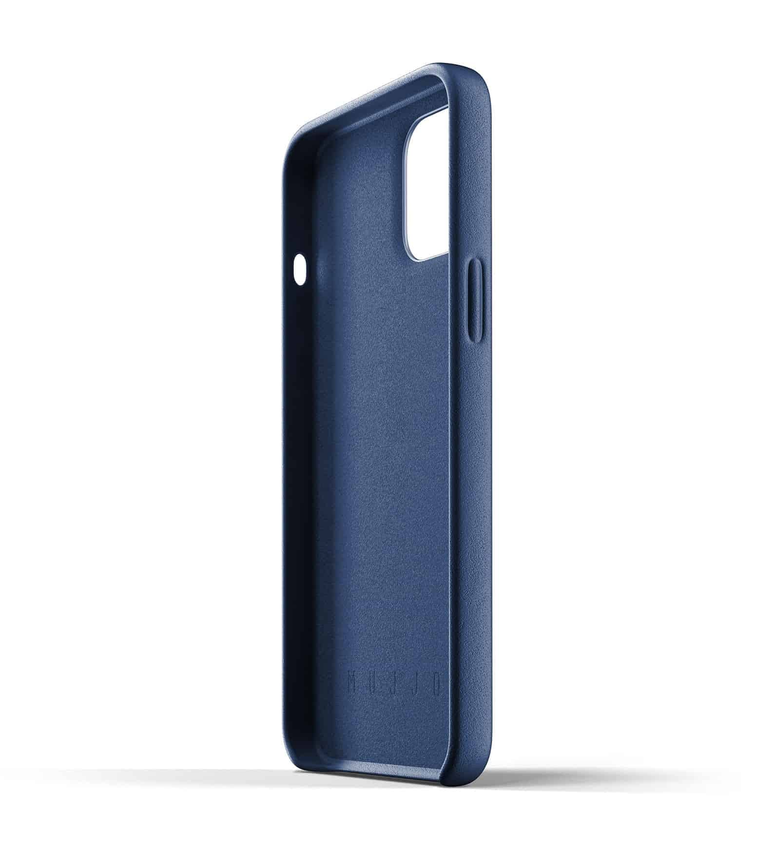 Full Leather Case for iPhone 12 Pro Max Monaco Blue Thumbnail 05