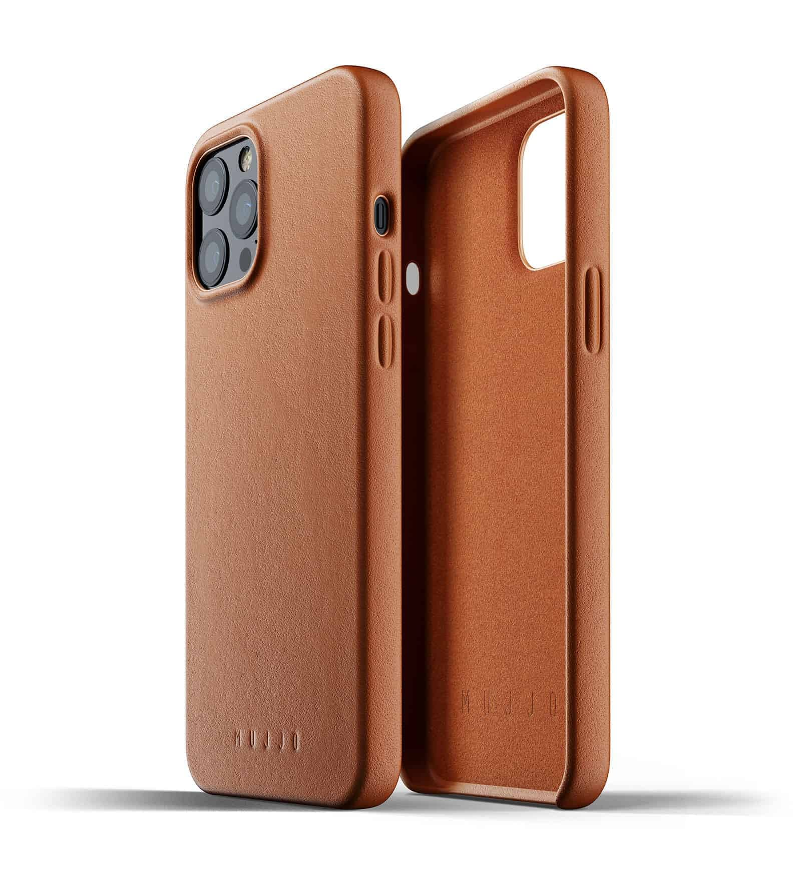 Full Leather Case for iPhone 12 Pro Max Tan Thumbnail 02