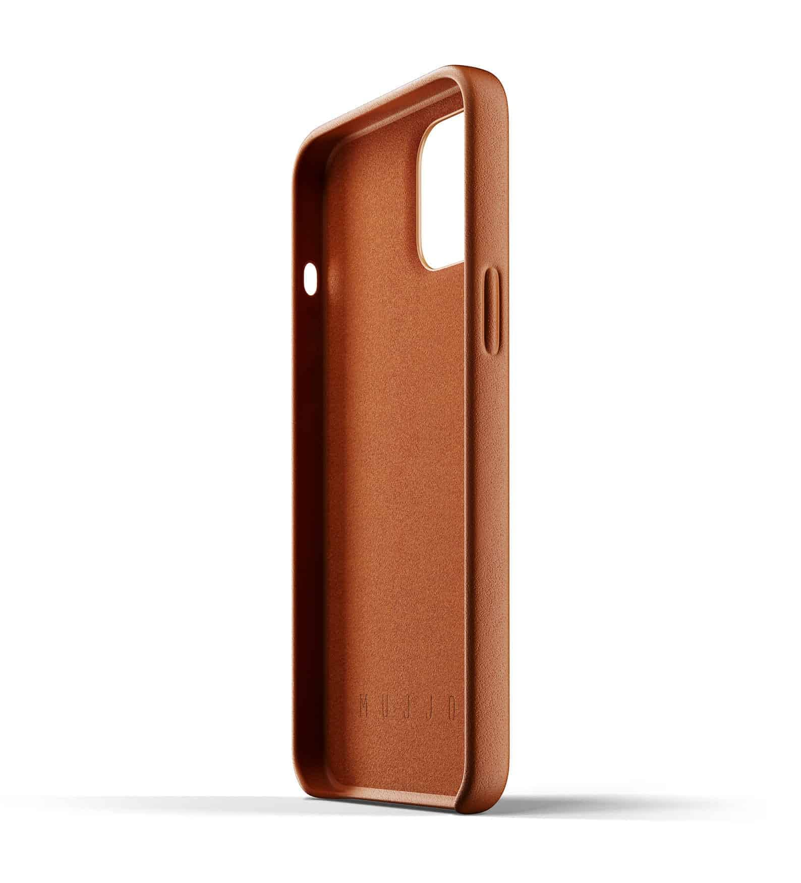 Full Leather Case for iPhone 12 Pro Max Tan Thumbnail 05