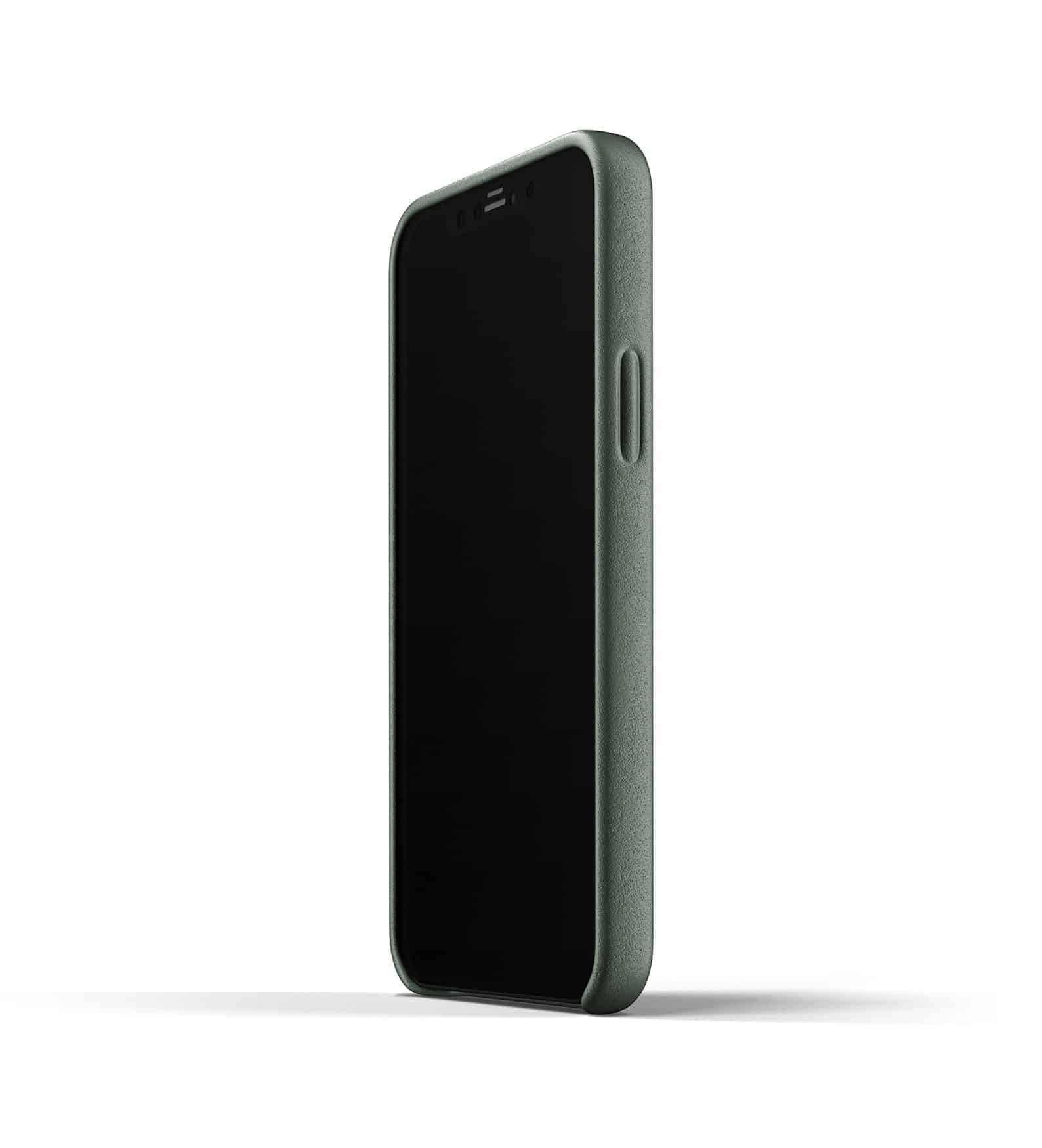 Full Leather Case for iPhone 12 Slate Green Thumbnail 07
