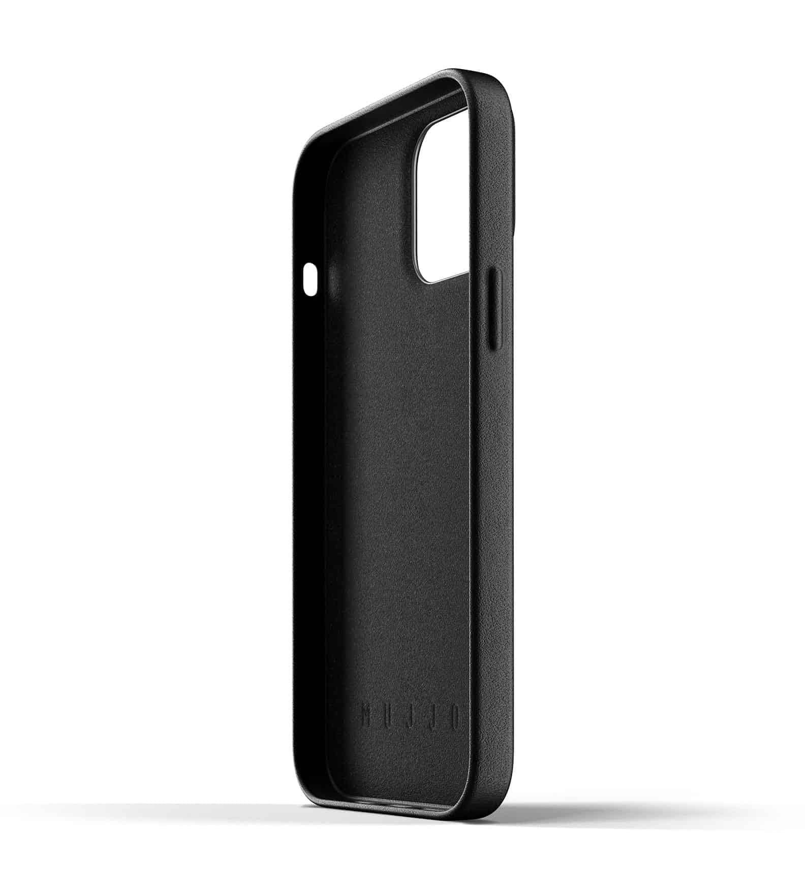Full Leather Case for iPhone 13 Pro Max Black Thumbnail 05