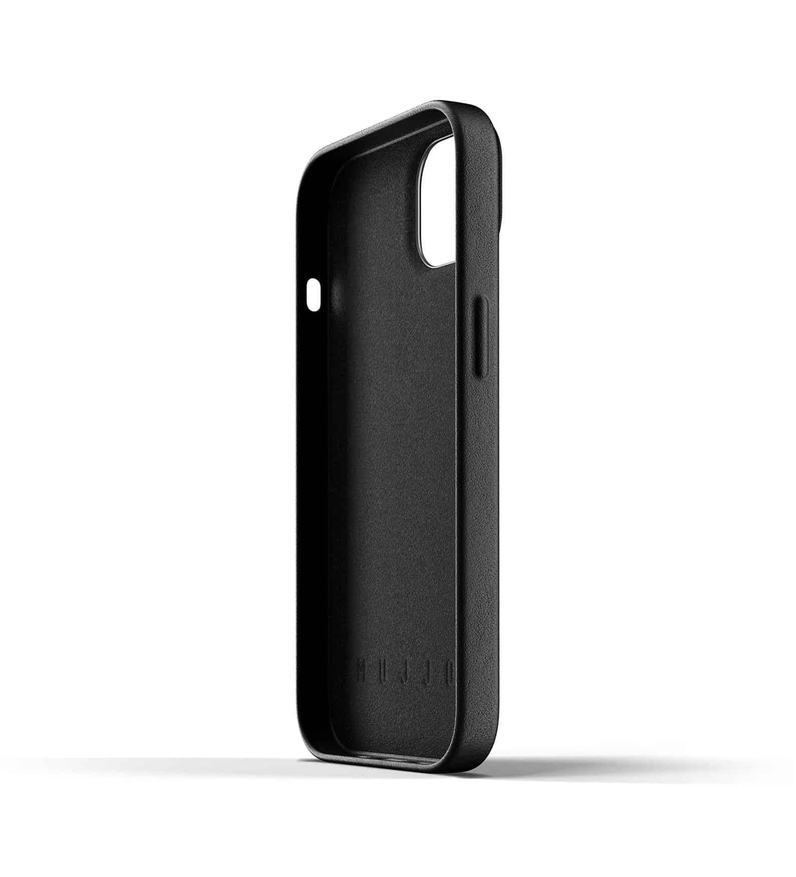 Full Leather Wallet Case for iPhone 13 Black Thumbnail 05