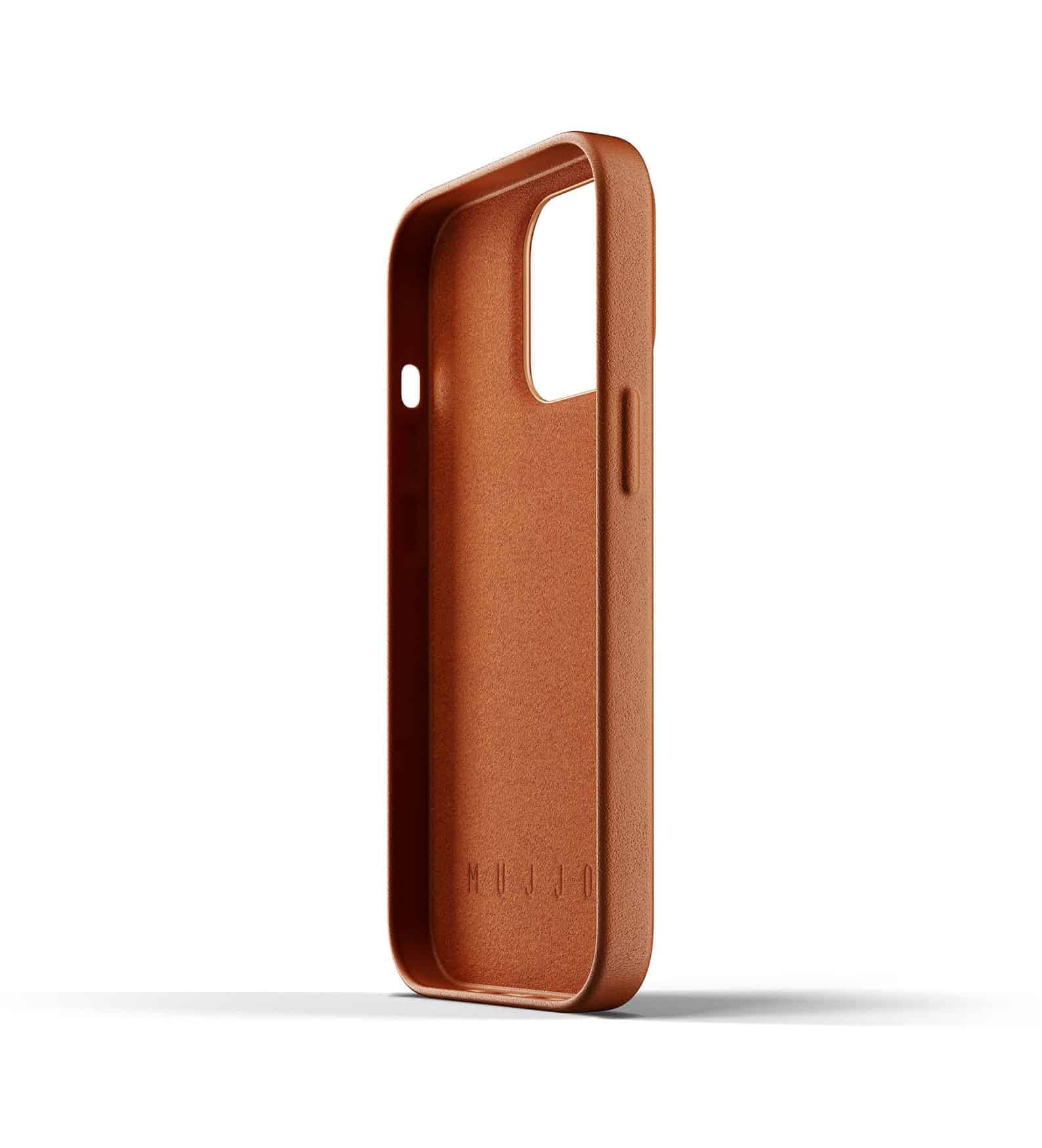 Full Leather Wallet Case for iPhone 13 Pro Tan Thumbnail 05