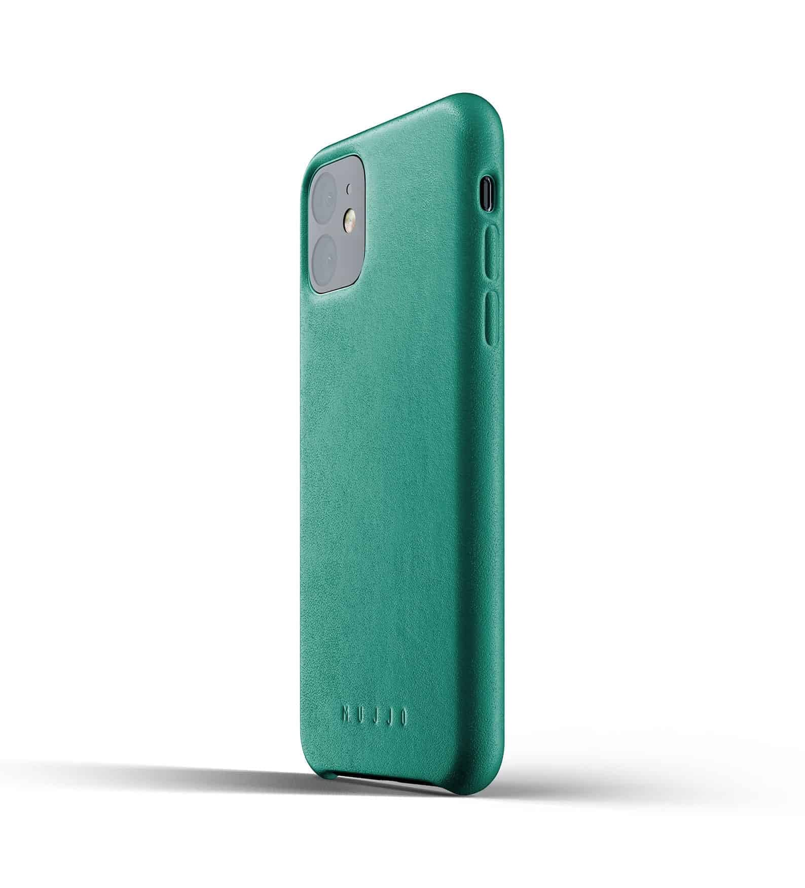 Full leather case for iPhone 11 Alpine Green Thumbnail 03