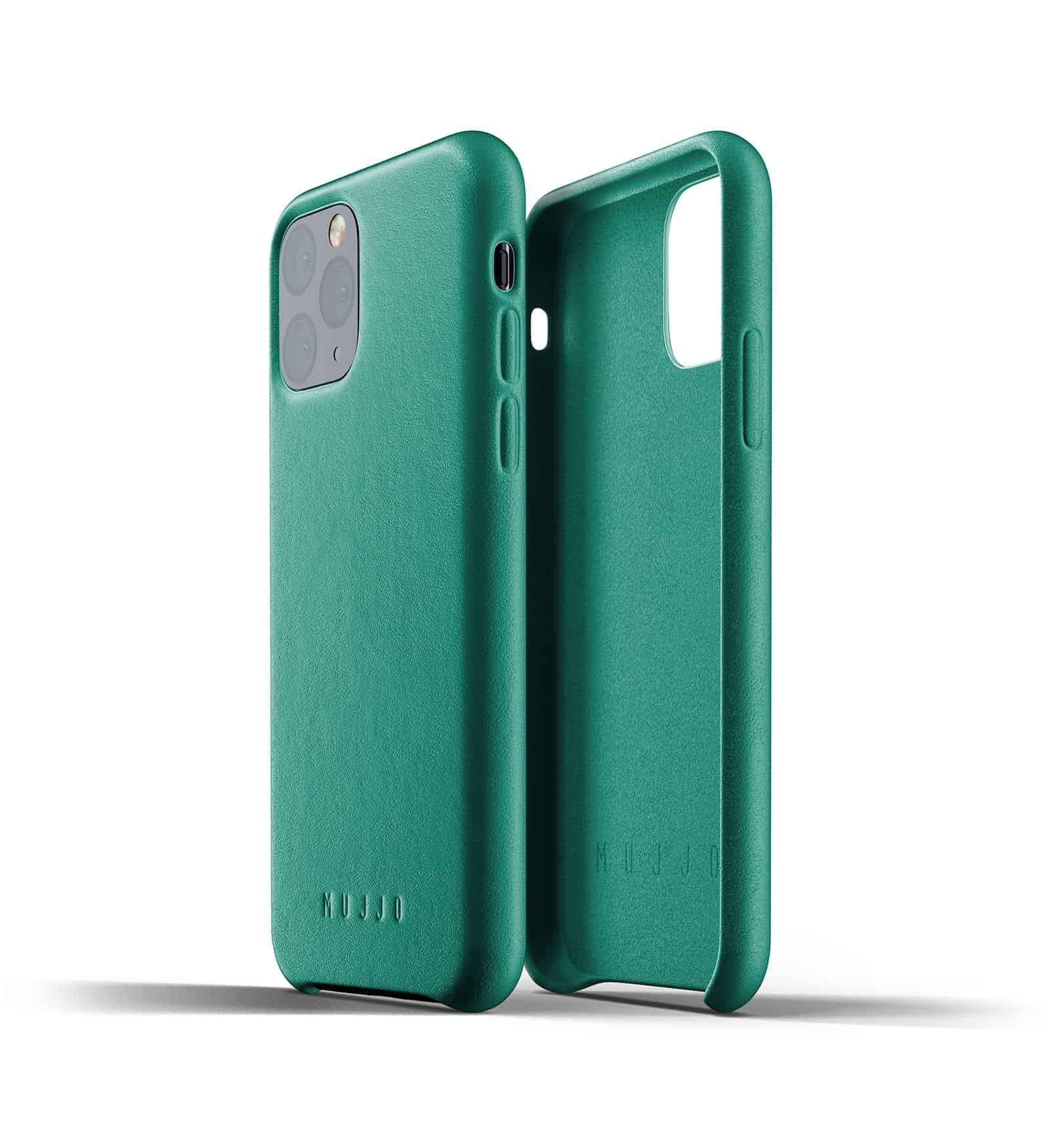 Full leather case for iPhone 11 Pro Alpine Green Thumbnail 02