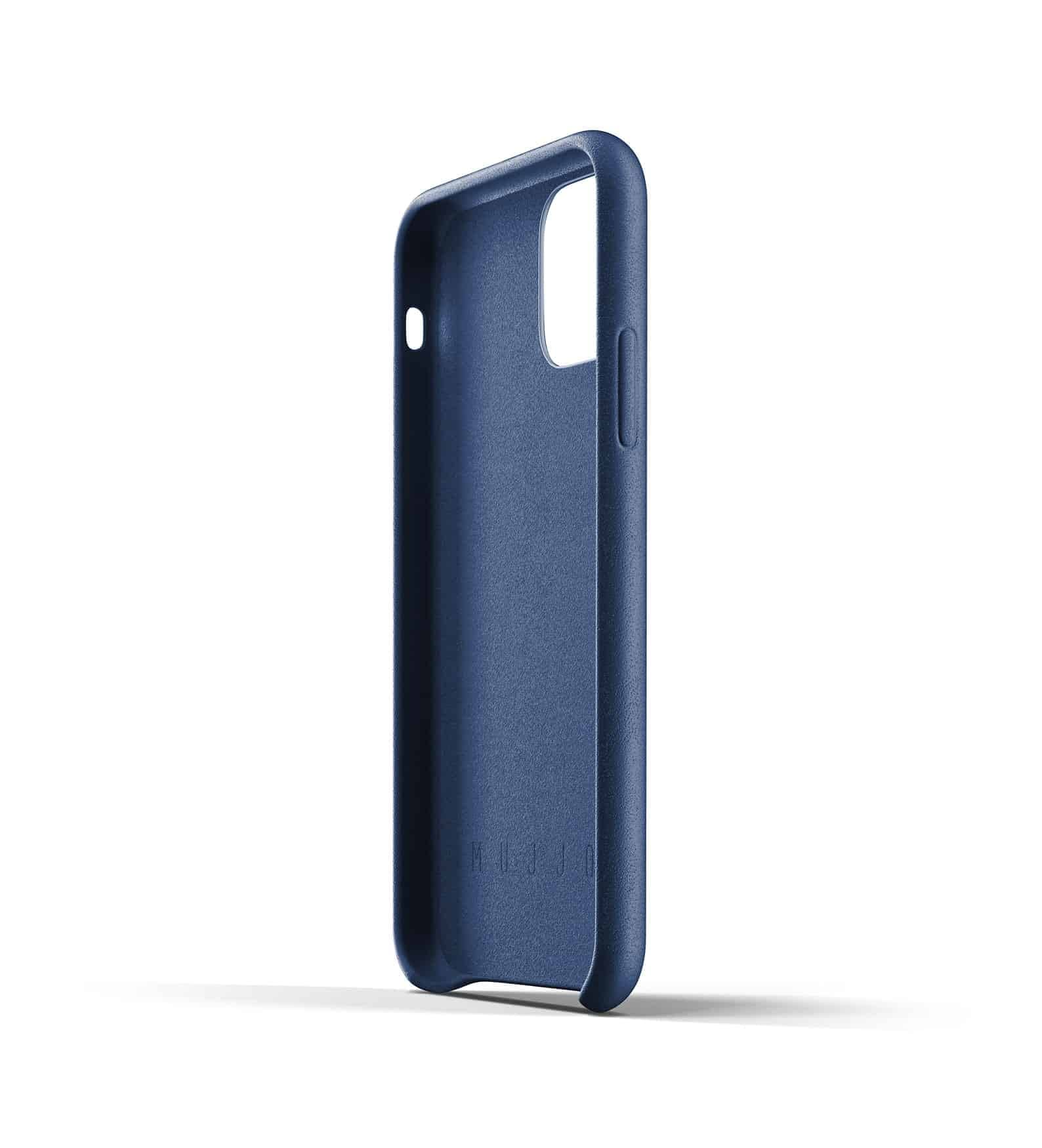 Full leather case for iPhone 11 Pro Blue Thumbnail 05