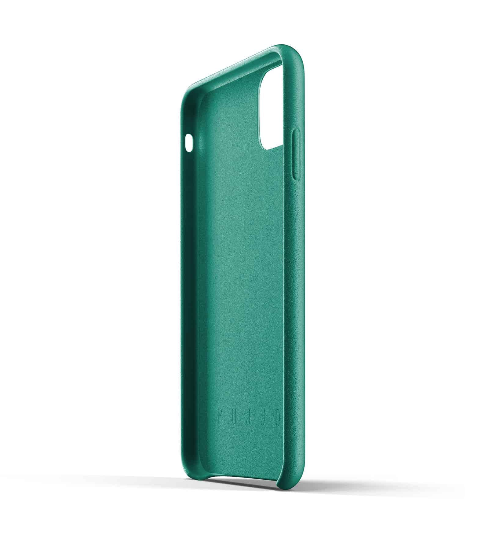 Full leather case for iPhone 11 Pro Max Alpine Green Thumbnail 05