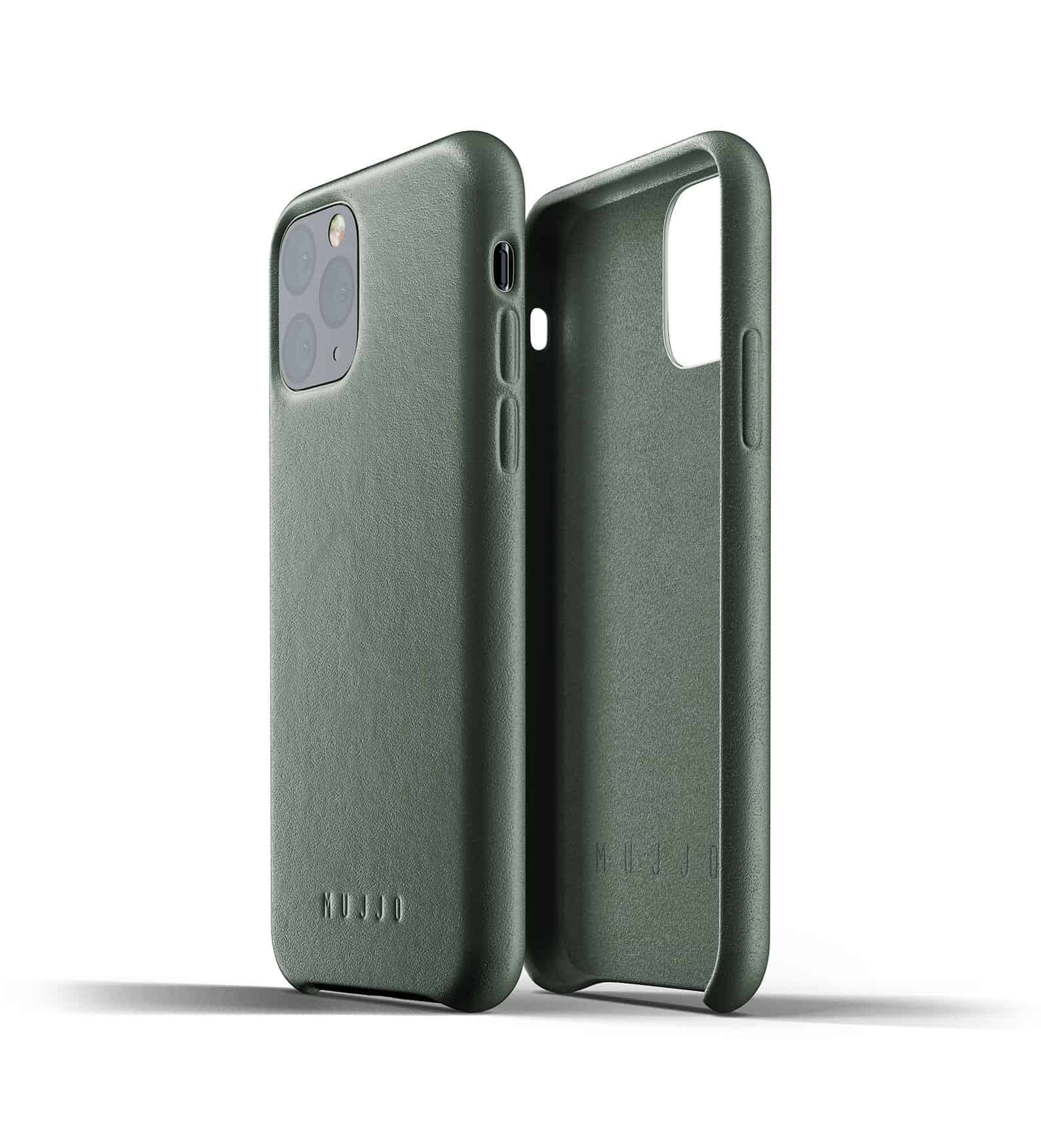 Full leather case for iPhone 11 Pro Slate Green Thumbnail 02
