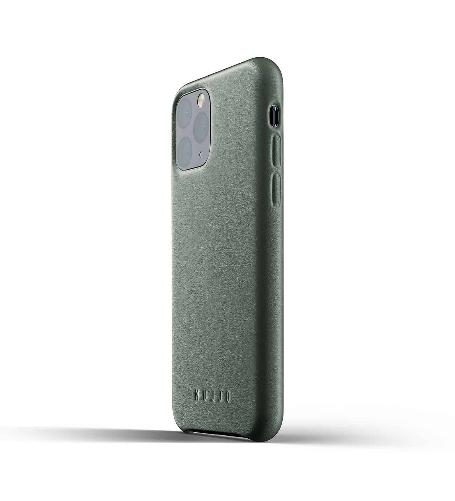 Full leather case for iPhone 11 Pro Slate Green Thumbnail 03