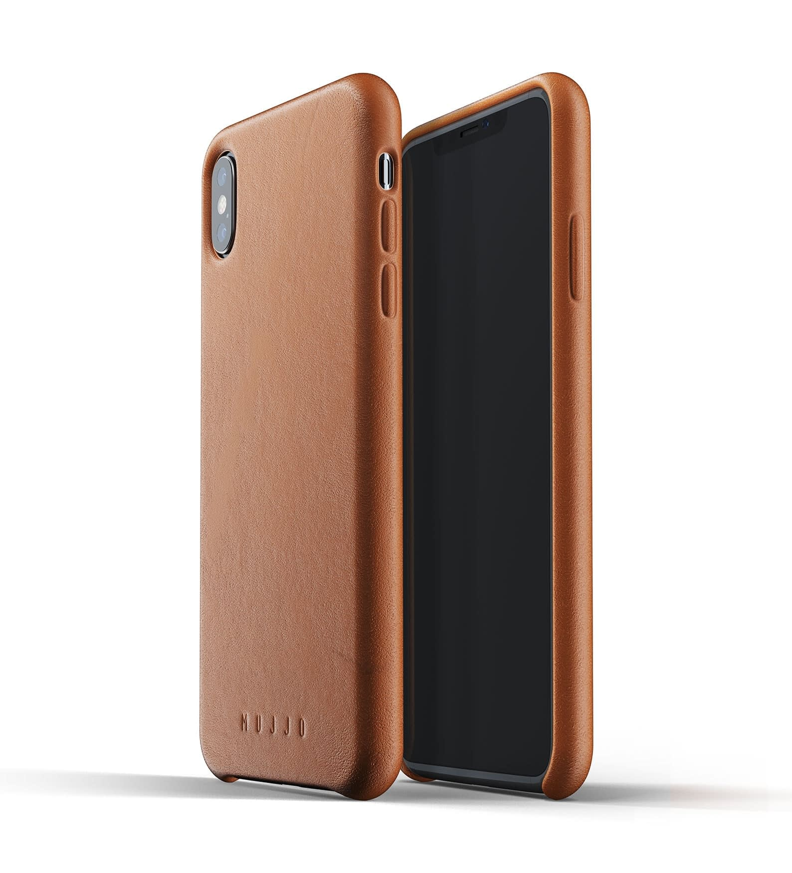 Full leather case for iPhone Xs Max Tan Thumbnail 01