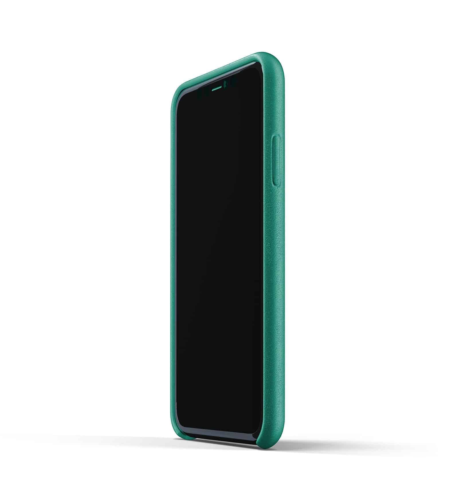 Full leather wallet case for iPhone 11 Alpine Green Thumbnail 04