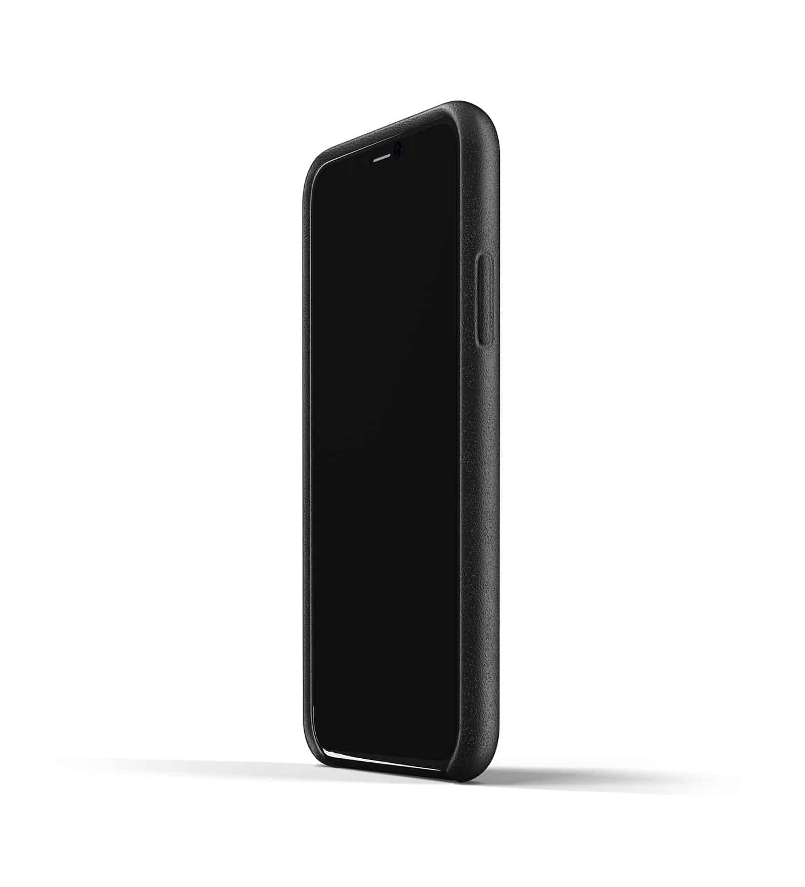 Full leather wallet case for iPhone 11 Pro Black Thumbnail 04