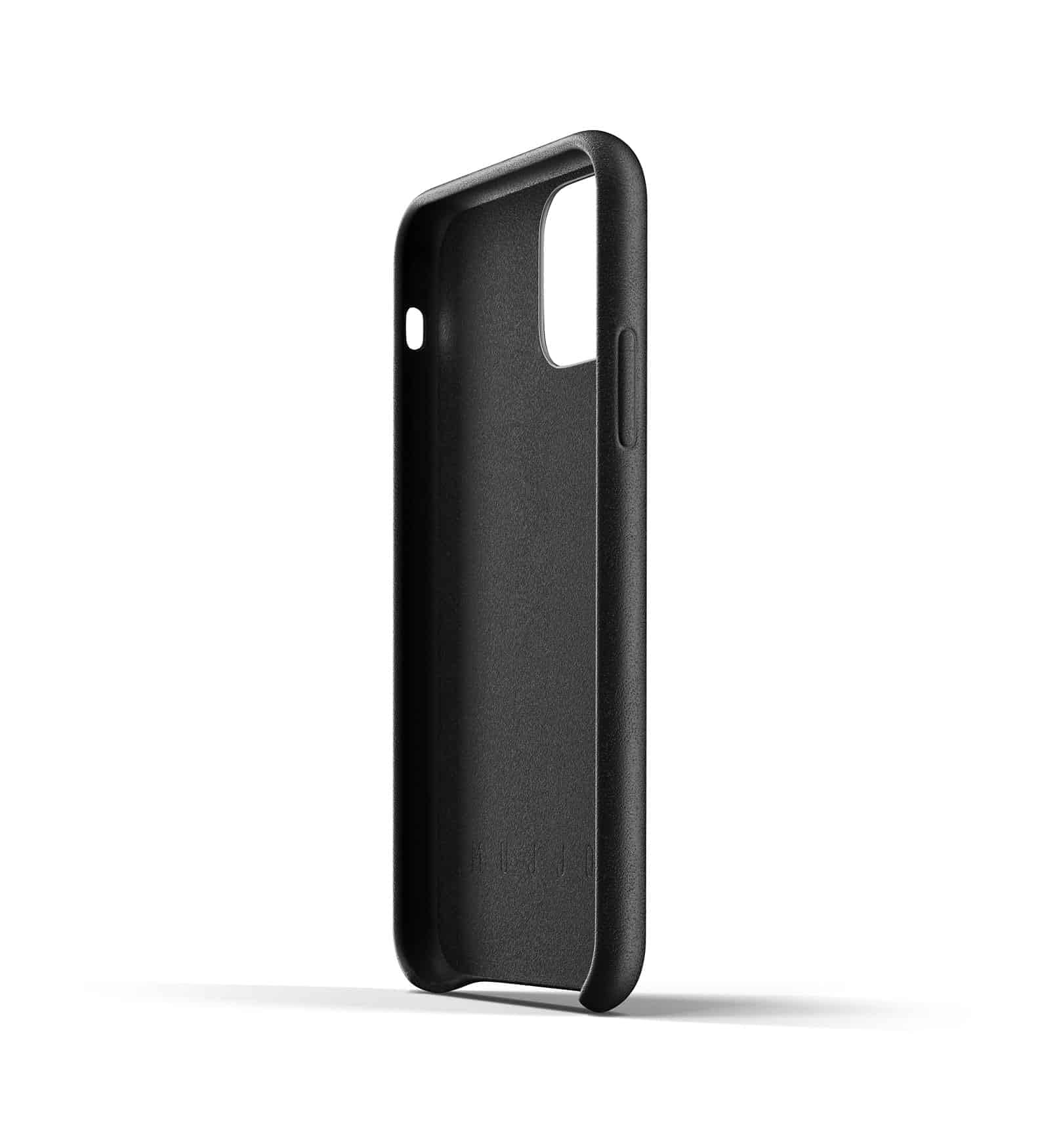 Full leather wallet case for iPhone 11 Pro Black Thumbnail 05