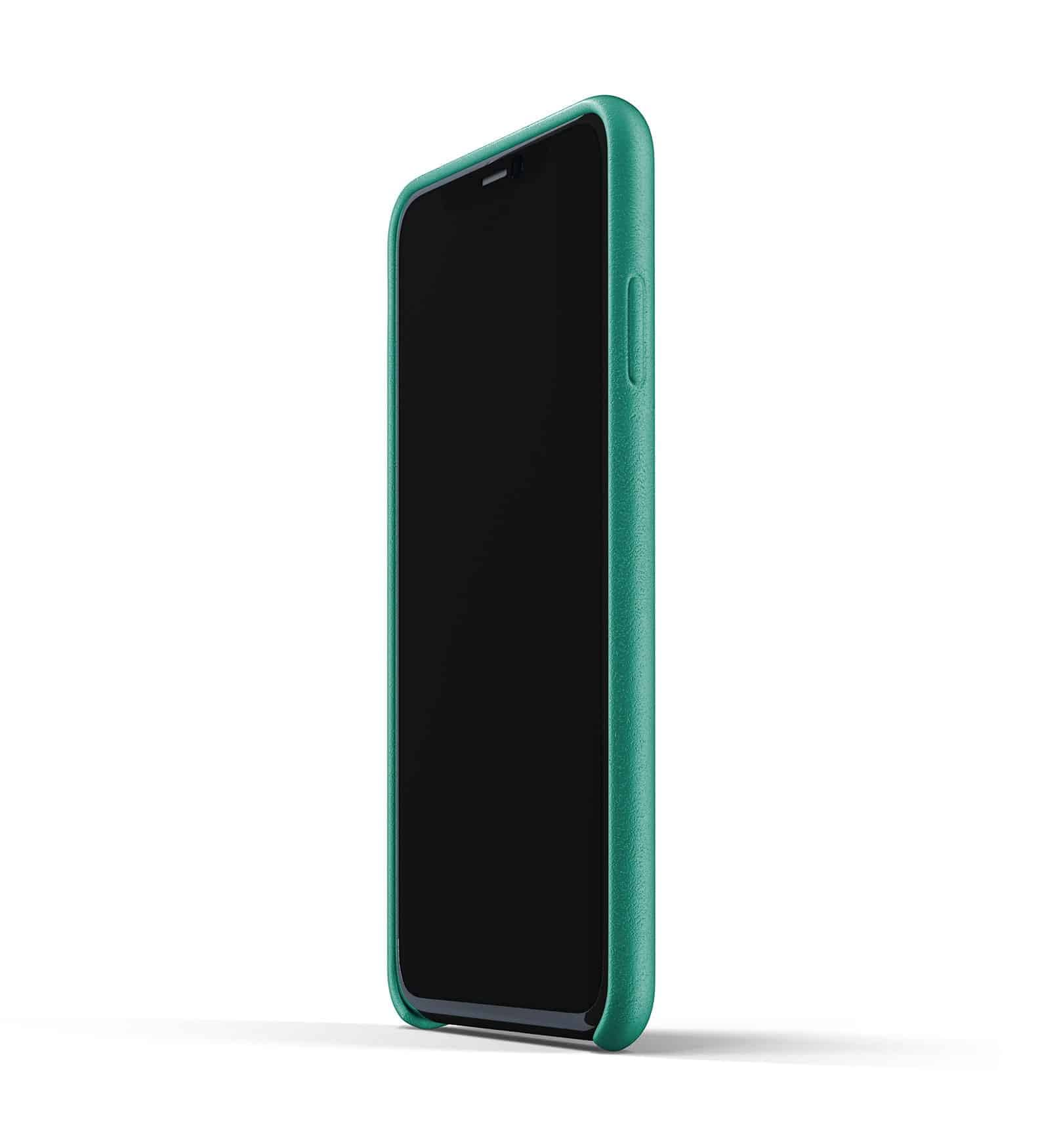 Full leather wallet case for iPhone 11 Pro Max Alpine Green Thumbnail 04