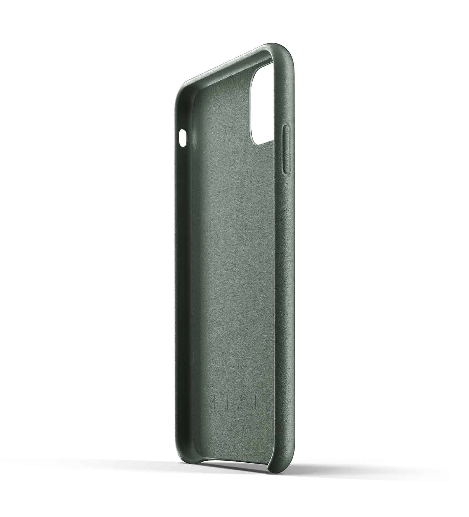 Full leather wallet case for iPhone 11 Pro Max Slate Green Thumbnail 05