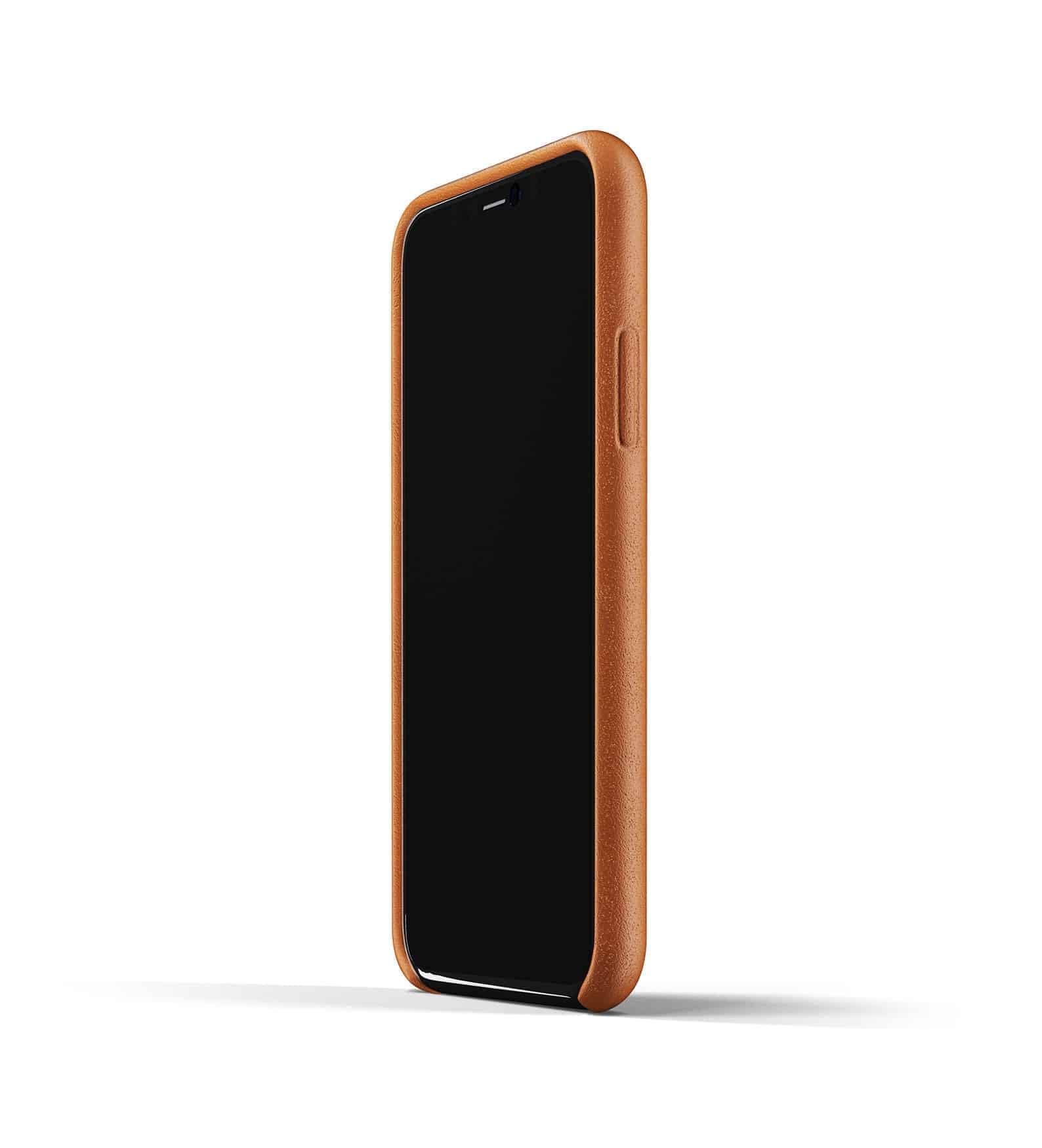 Full leather wallet case for iPhone 11 Pro Tan Thumbnail 04