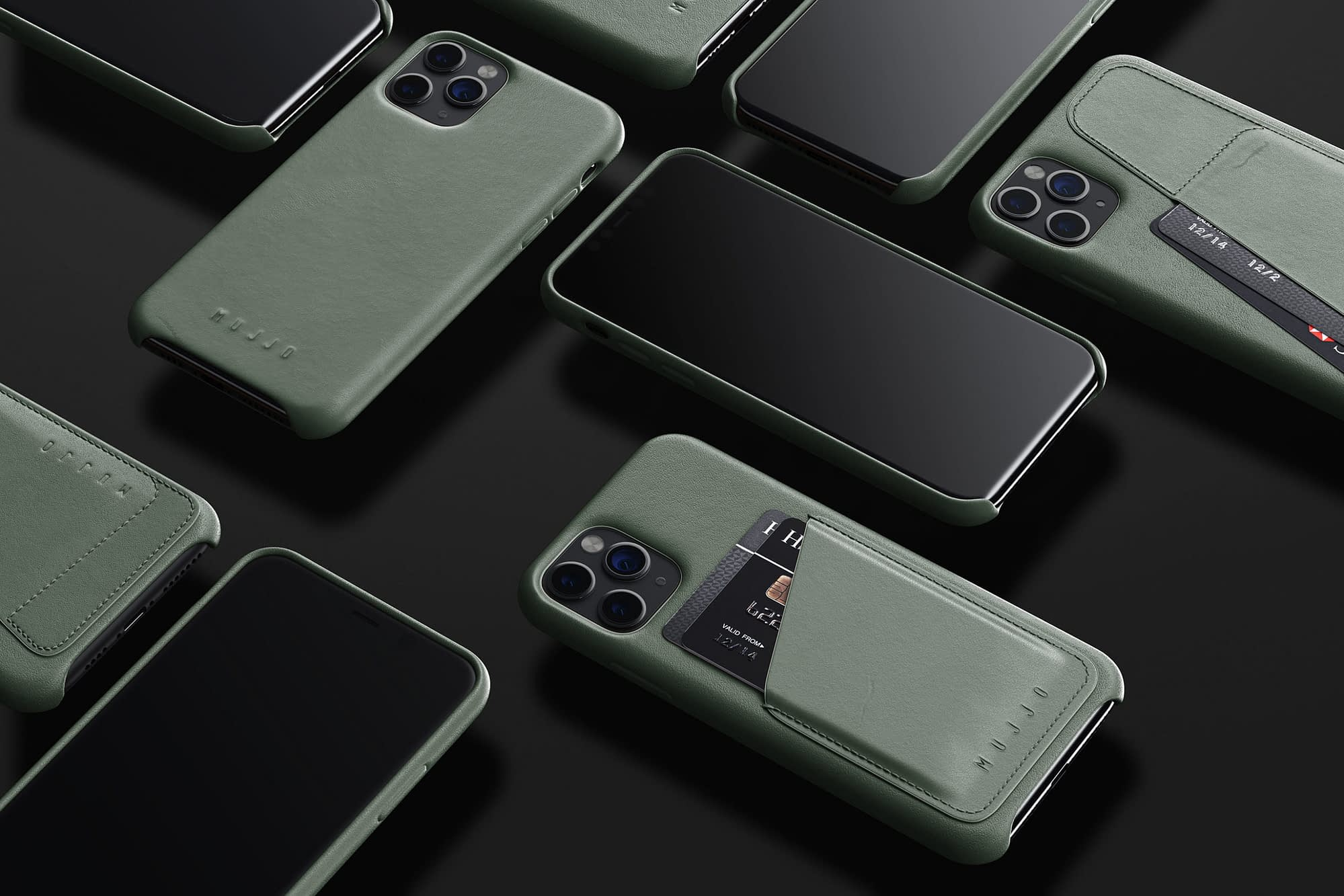 Full Leather (Wallet) Cases for iPhone 11 Pro (and Pro Max) 01