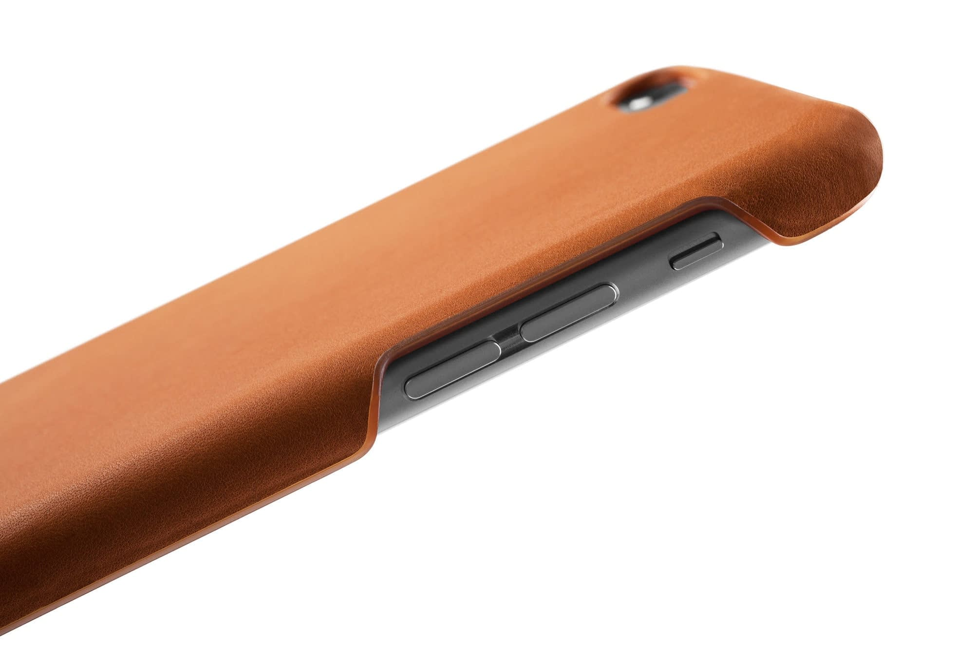 Leather Case for iPhone 6s Plus Tan 009