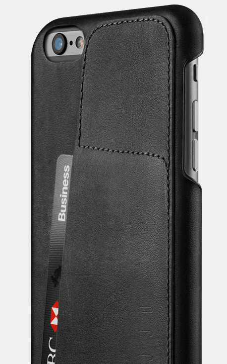 leather wallet case 80 for iphone 6s plus black 002