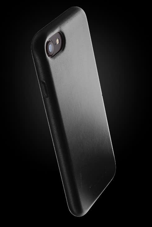 full leather case for iphone 8 black 002