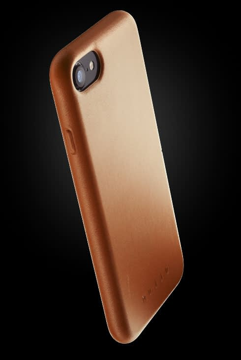 full leather case for iphone 8 tan 002