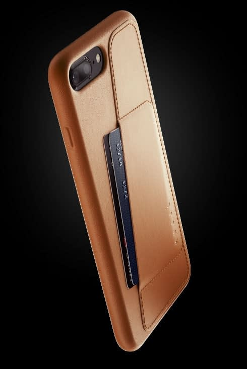 full leather wallet case for iphone 8 plus tan 002