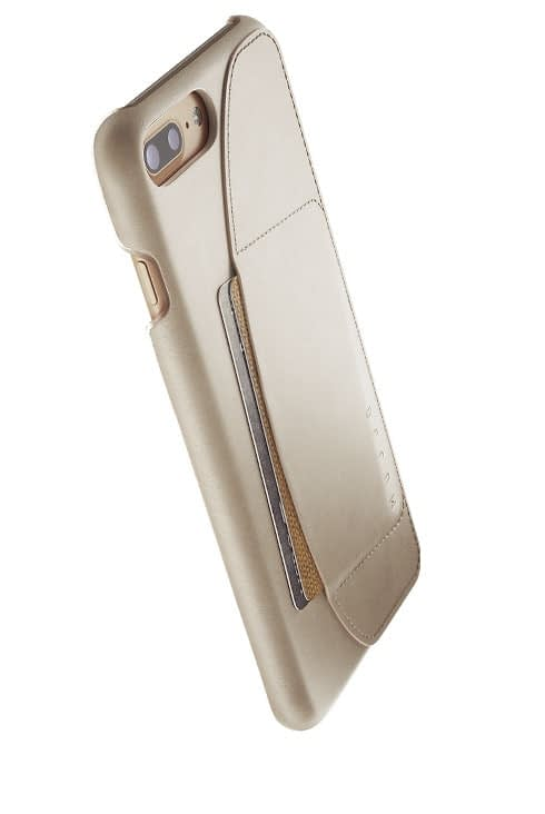 leather wallet case for iphone 8 plus champagne 002