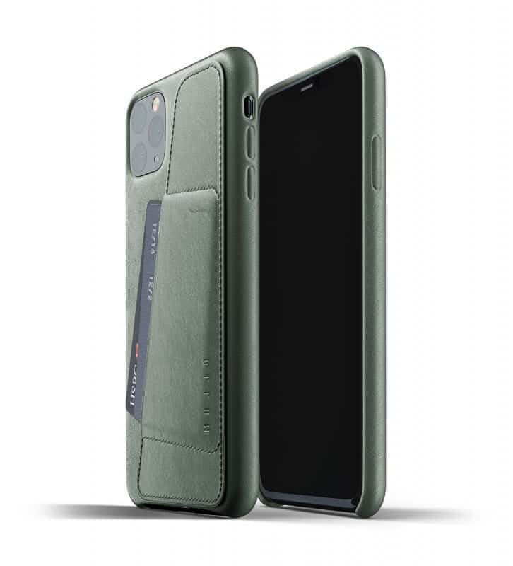 Full leather wallet case for iPhone 11 Pro Max Slate Green Thumbnail 01 726x800