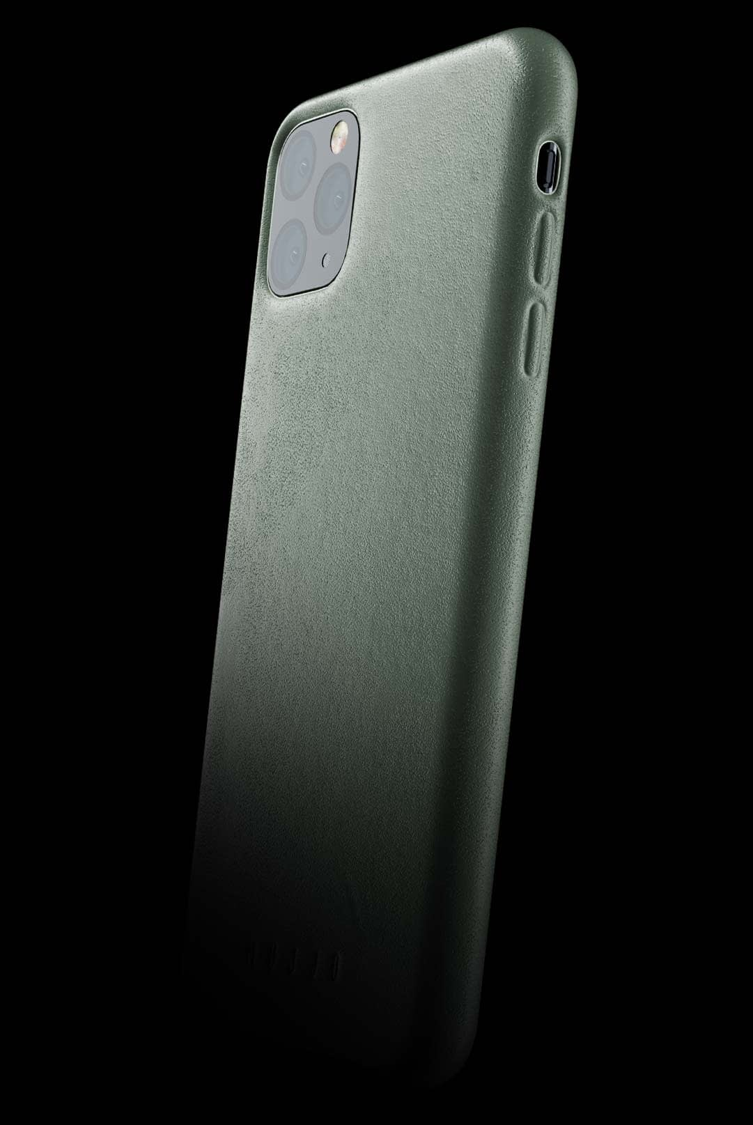 full leather case for iphone 11 pro max slate green 002
