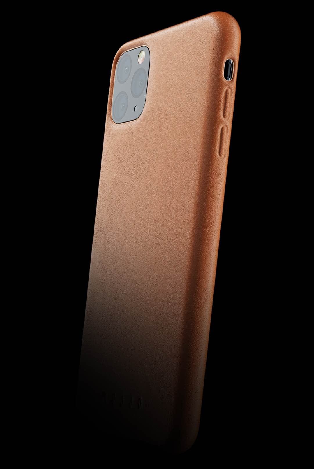full leather case for iphone 11 pro max tan 002