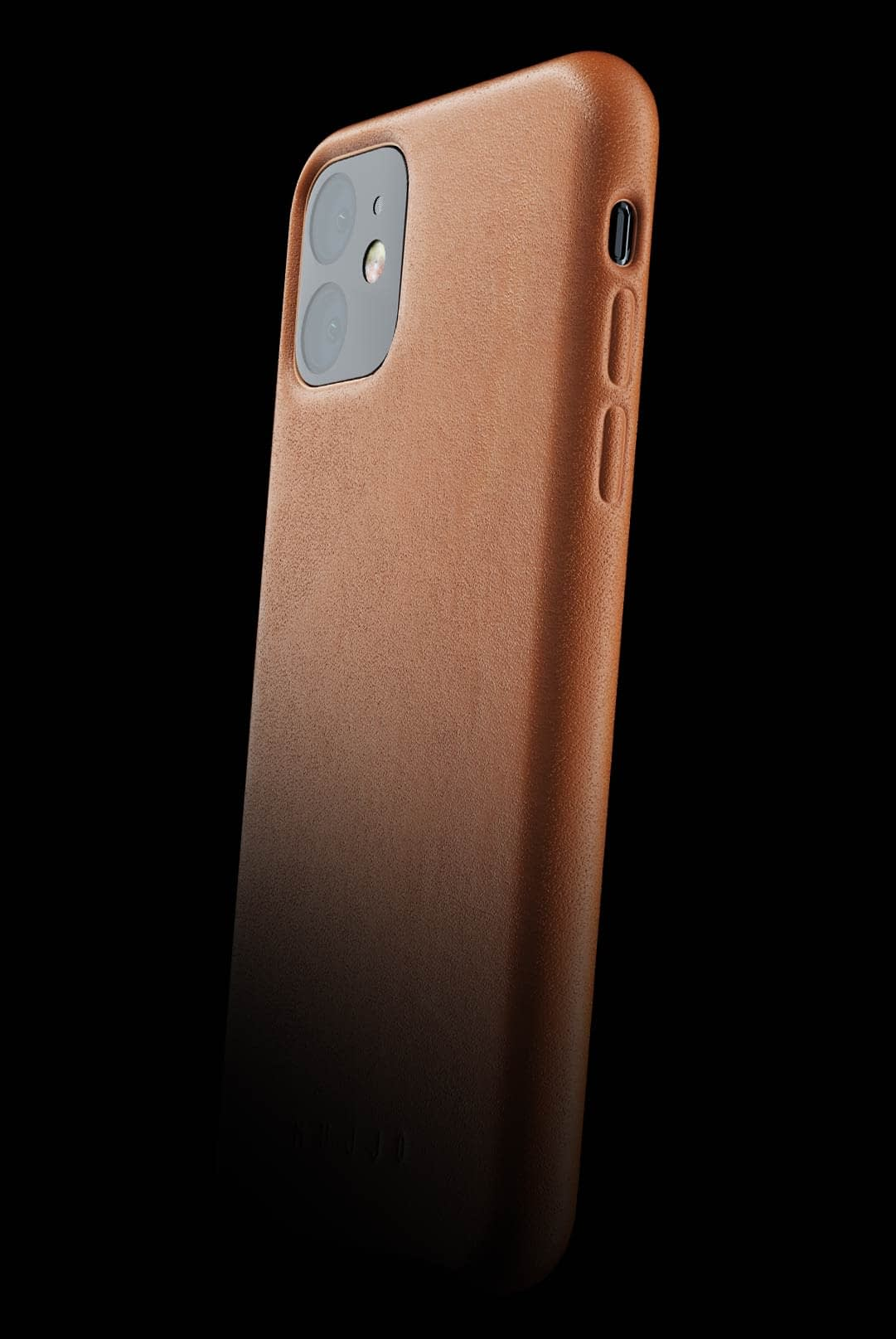 full leather case for iphone 11 tan 002