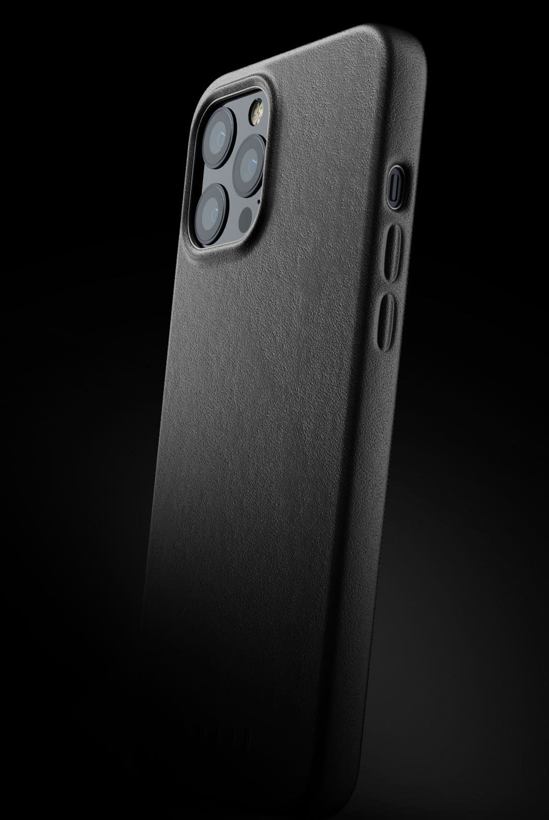full leather case for iphone 12 pro max black 002